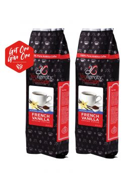 Be The Change Coffee - French Vanilla - 12oz Ground [QTY: 2   Get One, Give One FREE]