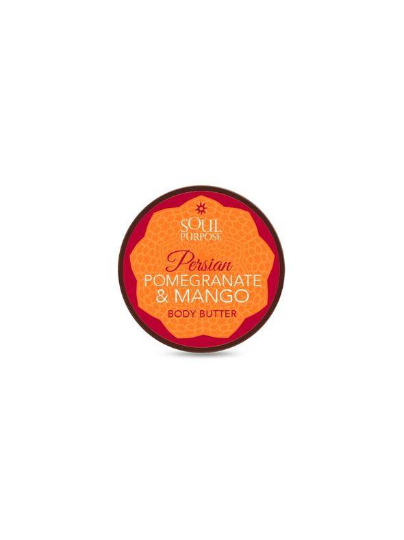 Persian Pomegranate Mango Body Butter - 4 oz.