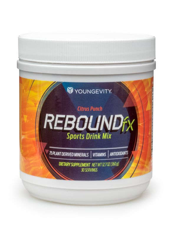 Rebound Fx Citrus Punch Powder - 360 G Canister