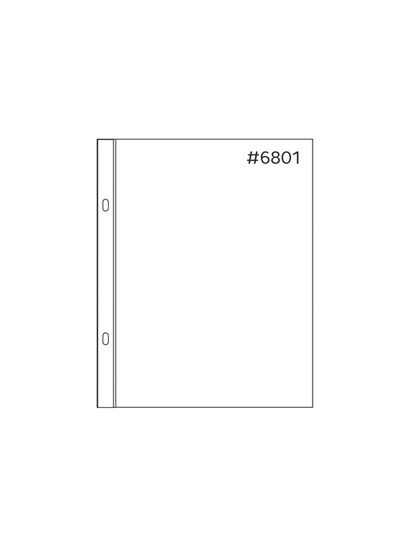 *50% OFF* Anthology 6 x 8 Sheet Protectors (20 pack – 1 style) *SALE* WHILE SUPPLIES LAST