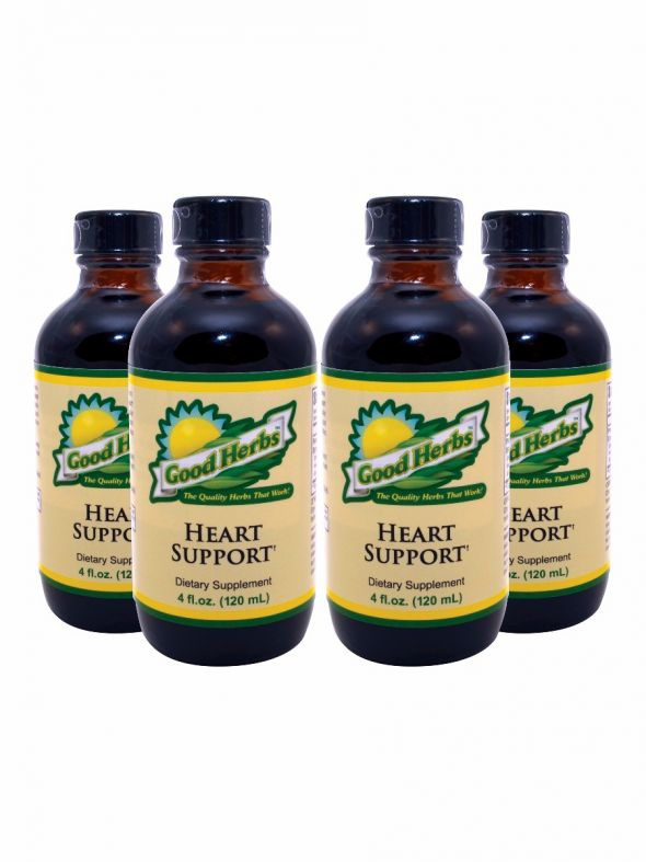 Heart Support (4oz) - 4 Pack