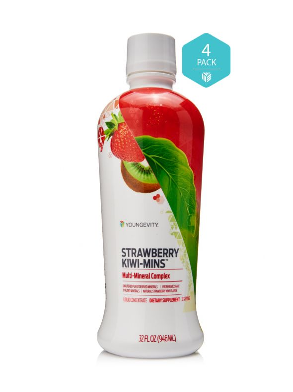 Strawberry Kiwi-Mins 32oz (4 Pack)